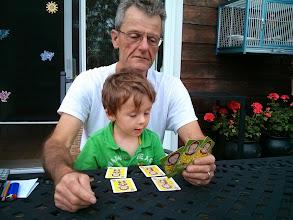 Photo: Finn Plays Go Ape with Grandpa