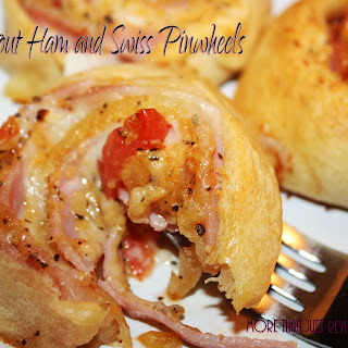 Pimped Out Ham and Swiss Pinwheels Recipe