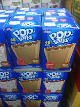 Photo: Right inside the door are these HUGE boxes of Pop-Tarts.