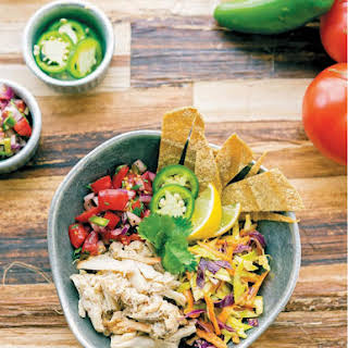Vegan Fish Taco Bowl.