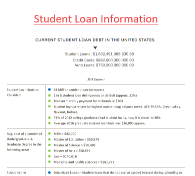 student loan facts 2018 2019