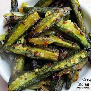 Crispy Indian Okra.
