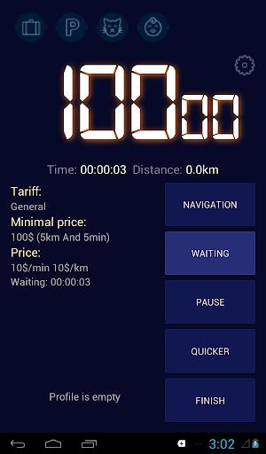 Taximeter for earnings  screenshots 1