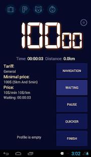 Taximeter for earnings - náhled