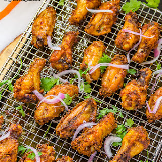 Indian Spiced Chicken Wings | Roasted Chicken Wings Recipe