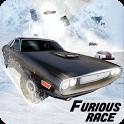 Furious Death Car Snow Racing: Armored Cars Battle icon