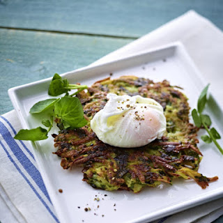 Watercress Rösti with Poached Egg