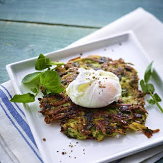 Watercress Rösti with Poached Egg.