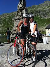 Photo: Helene und Regula auf dem Gotthard