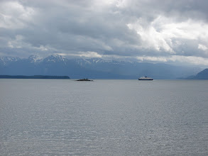 Photo: July 19 - The Alaska Ferry in Favorite Channel.