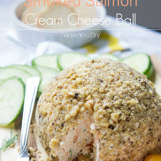 Smoked Salmon Cream Cheese Ball.