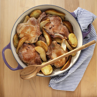 Pork Chops with Pears and Cider