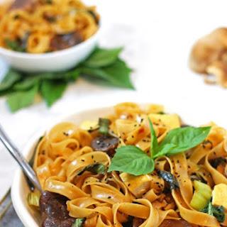Thai Basil Noodles.