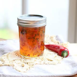 How to Make Homemade Hot Pepper Jelly.