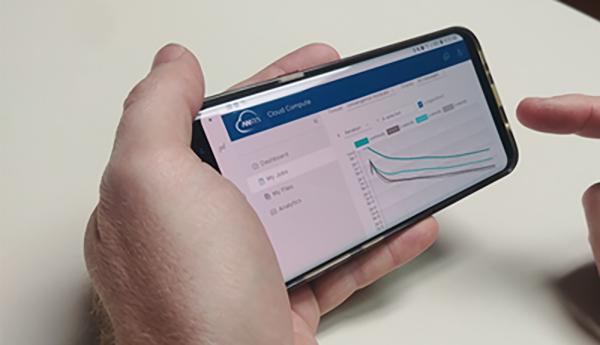 ANSYS | Теперь следить за ходом расчёта можно и со смартфона