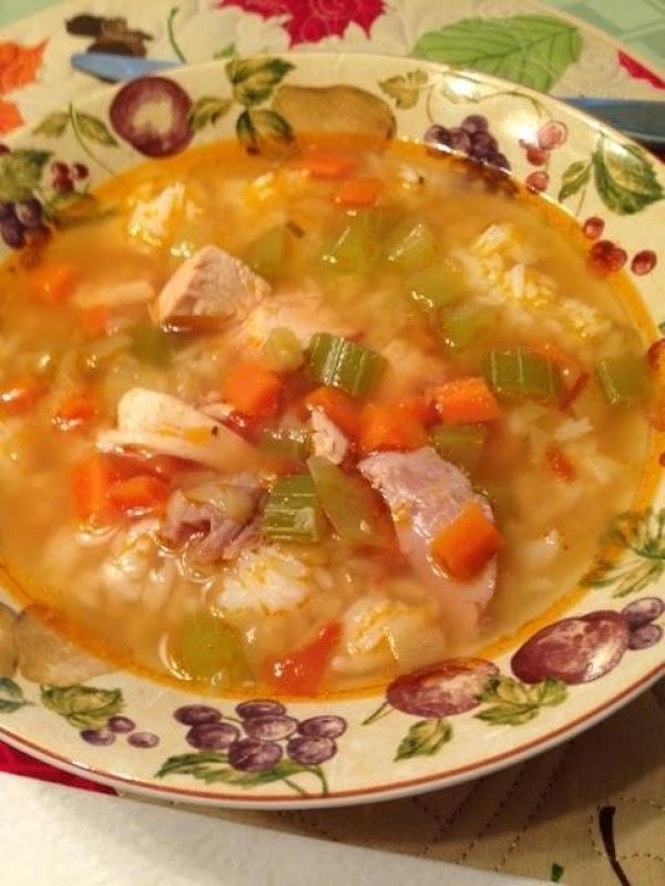 Grammy's Rotisserie Chicken Soup Recipe
