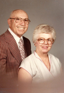 Joe and Priscilla in 1985