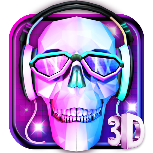 3D DJ Skull & Rock Music Theme file APK for Gaming PC/PS3/PS4 Smart TV