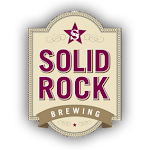 Logo for Solid Rock Brewing
