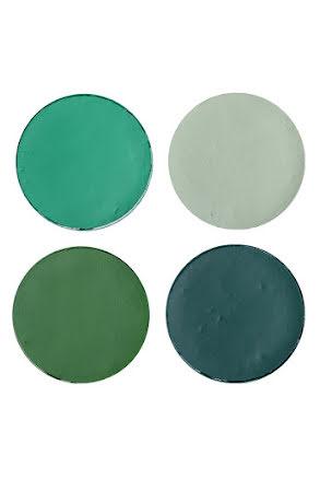 Aquasmink stora, gröna