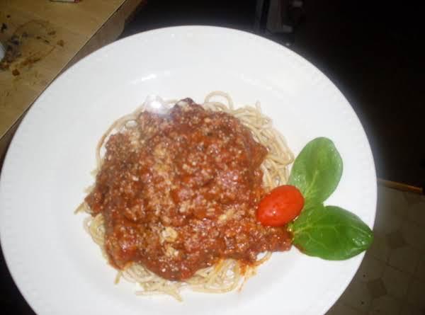 Mama Dee's Spaghetti Sauce Recipe