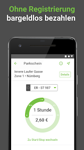 PayByPhone Parken  - Parkschein per Handy Screenshot