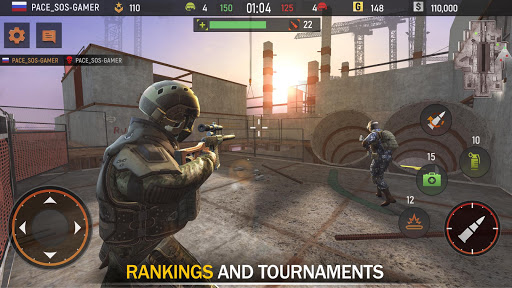 Striker Zone Mobile: Online Shooting Games 3.22.8.0 Screenshots 11