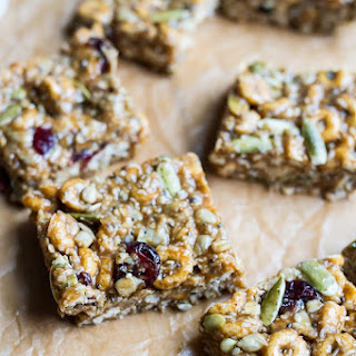 Pumpkin Spice Superfood Cereal Squares