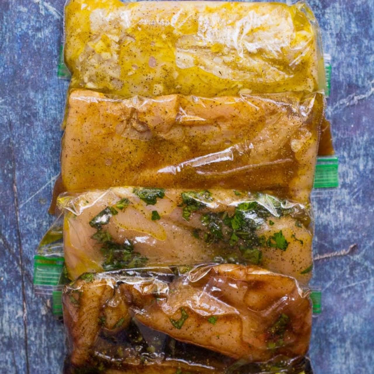 5 Healthy Chicken Marinades
