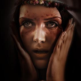 Gypsy by Carlos Acuesta - People Portraits of Women