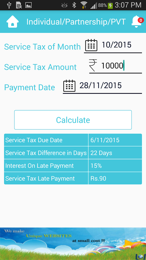 Tax Tap- screenshot