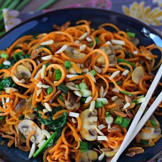 Asian Sweet Potato Noodle Stir-Fry