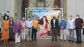 Presentación de la Feria de Vera, ayer en el Convento de la Victoria.