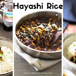 Hayashi Rice - from scratch
