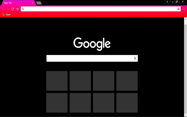pink red black chrome web store