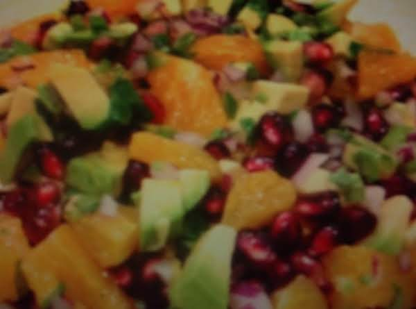 Pomegranate  Avocado  Salsa Recipe
