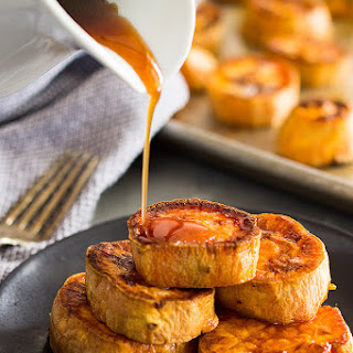 Roasted Sweet Potatoes with Cinnamon Glaze Recipe