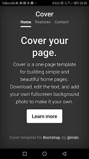 Bootstrap 4 0.1.4 screenshots 7