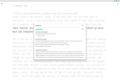 JotterPad - Writer, Screenplay, Novel 12.10.3-pi Screenshots 10