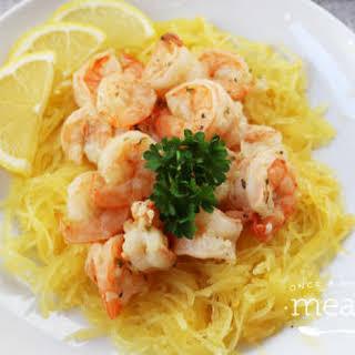 Lemon Garlic Shrimp Bowls.
