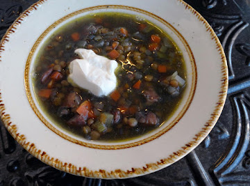 Crock Pot Lentil Soup Recipe