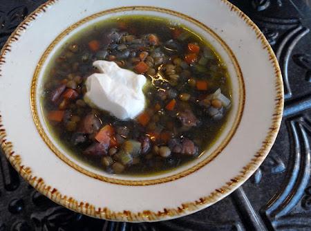 Crock Pot Lentil Soup Recipe