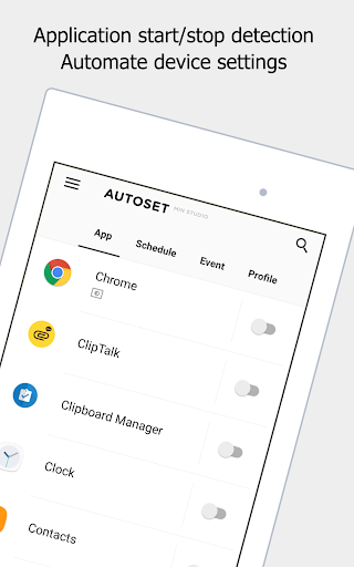 OTOSet - Android Automation Device Settings  screenshots 13