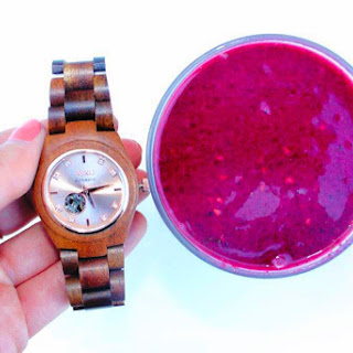 ORGANIC BEET & BERRY SMOOTHIE + JORD GIVEAWAY.