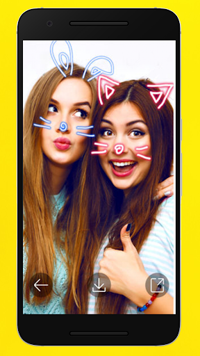 filters for snapchat : sticker design 1.5 screenshots 2