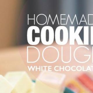 Cookie Dough White Chocolates.
