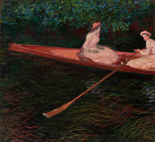 The Canoe on Epte