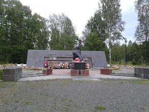 Photo: Памятник воинам в Суоярви