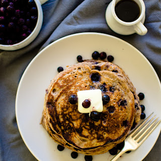 My Favorite Wild Blueberry Buttermilk Pancakes