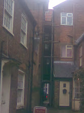 Photo: The small jitty going through to the High St. from the library area.